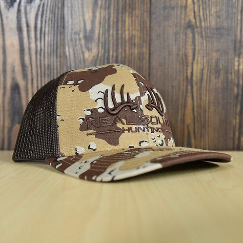 3D Desert Camo/Brown Snapback