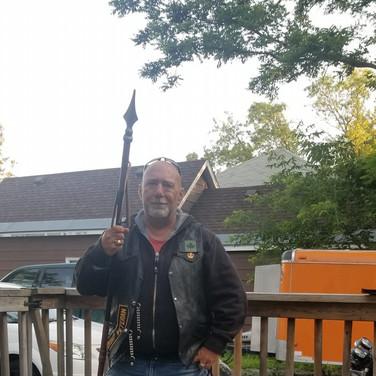 MAJOR Spear chucking