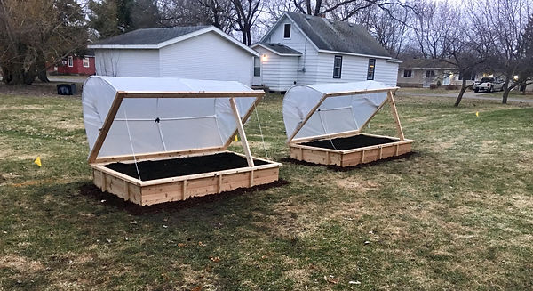 Hoop House Raised Bed Set up.jpg