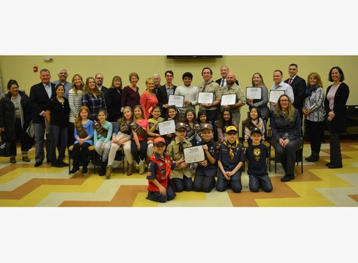 Orland Township Honors Holiday Program Donors