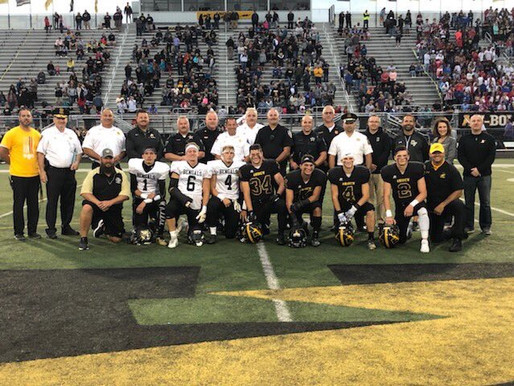 SSG Game of the Week: Andrew cruises by Oak Forest on night to honor First Responders