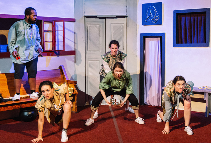 Complete Works of Shakespeare Abridged, directed by Steve Hart