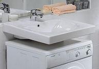 установка раковины на стиральную машину
