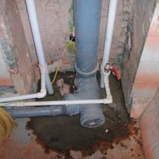 Замена стояка канализации и водопровода