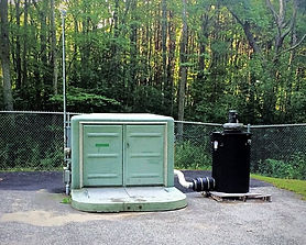 StoneWall Pump Station with Purafil Odor