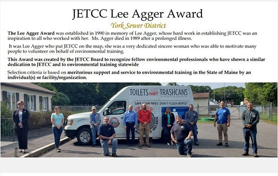 2020 JETCC Lee Agger Award
