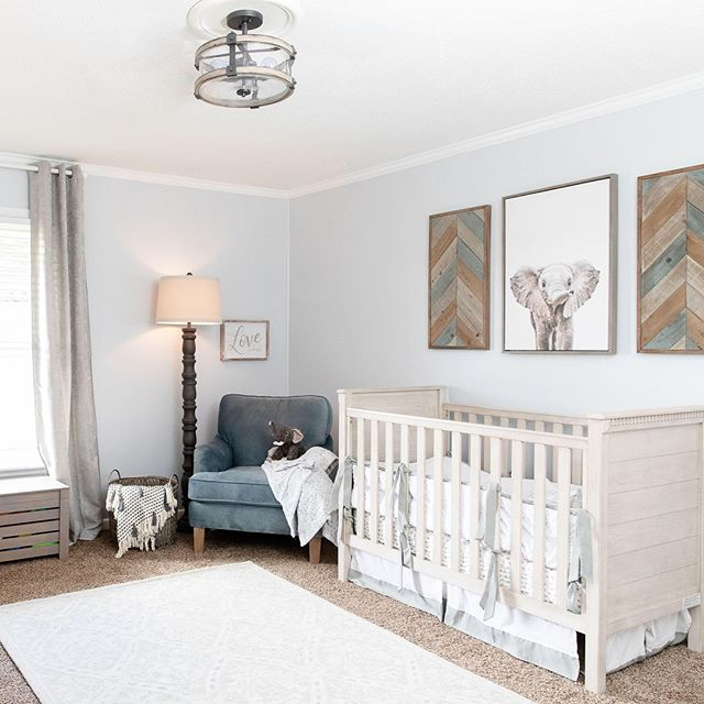 Last week we finished Caden's nursery an