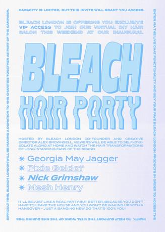 Bleach launches a virtual hair salon