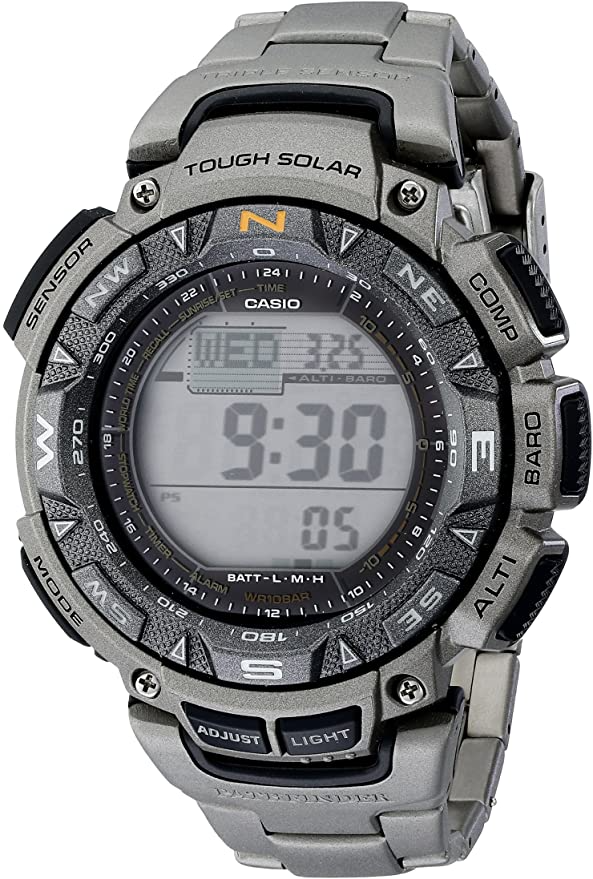 Casio Men's PAG240T-7CR Path