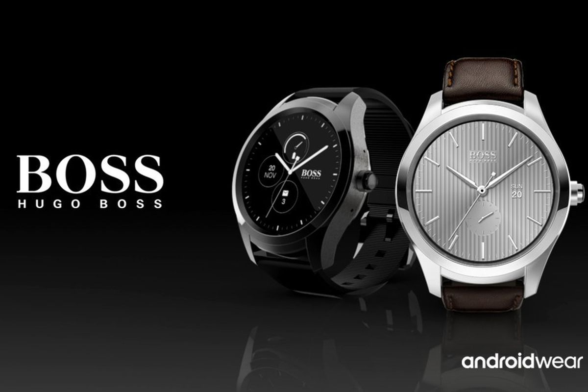 logo montre hugo boss