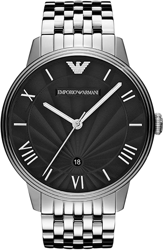 Emporio Armani Men's Quartz Watch with S