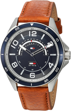 Tommy Hilfiger Men's Casual Sport Stainl