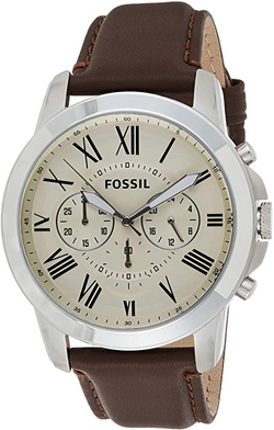 Fossil Men's Grant Stainless Steel Chron
