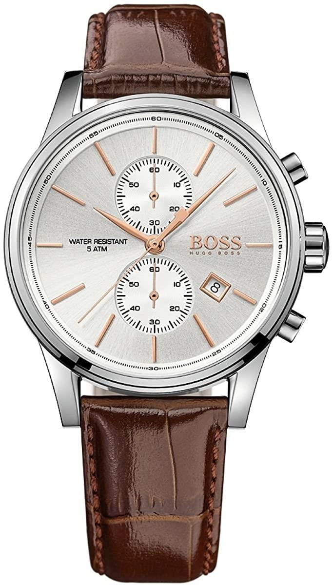 Hugo Boss Jet Silver _ Brown