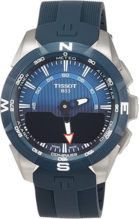 Tissot T-TOUCH SOLAR 2 TITAN BLAU SILIKONBD T110.420.47.041.00