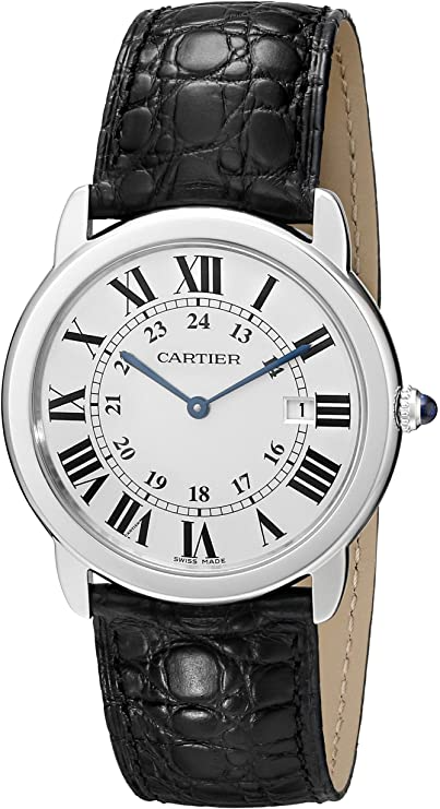 Cartier Ronde Solo Men's Steel Watch W67