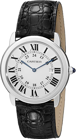 Cartier Ronde Solo Men's Steel Watch W67