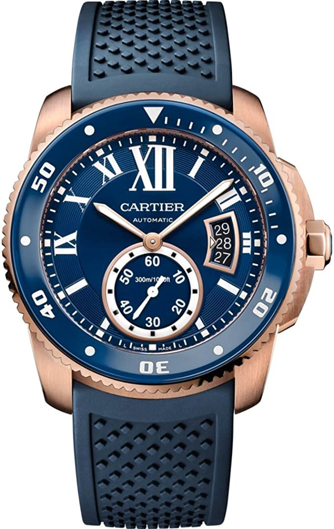 Cartier Calibre de Cartier Diver Blue Dial