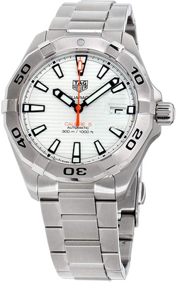 Tag Heuer Aquaracer White Dial Stainless