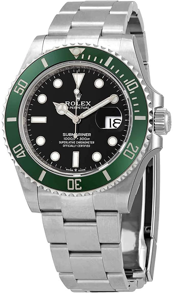 Rolex Submariner_Kermit_ Automatic Chron