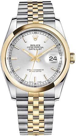 Rolex Datejust 36 116203 Sil