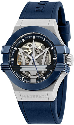 Maserati Men's Potenza R8821108028 Blue