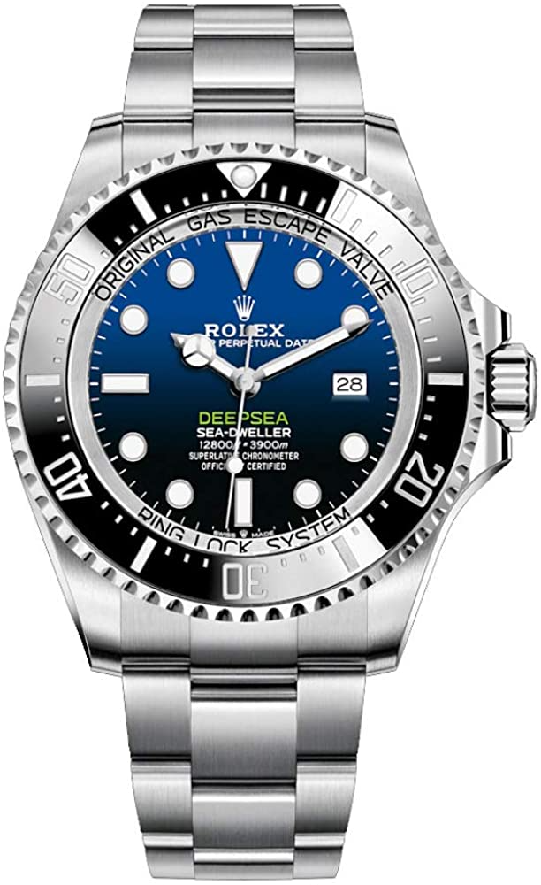 Rolex 44mm Men's Deepsea Sea-Dweller Sta