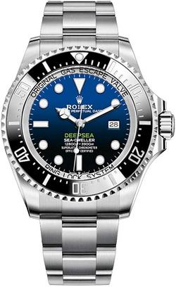 Rolex 44mm Men's Deepsea Sea-Dweller Sta