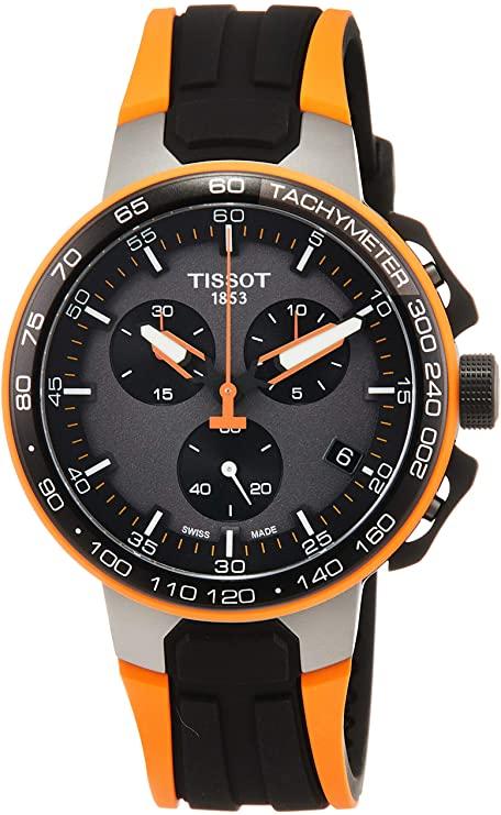 Tissot T-RACE CYCLING ORANG SILIKON Q T111.417.37.441.04 Chronographe pour homme