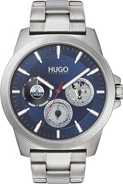 HUGO by Hugo Boss Men's #Twist Quartz Watch with Stainless Steel Strap, Silver, 22 (Model: 1530131)
