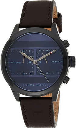 Tommy Hilfiger Brown Leather