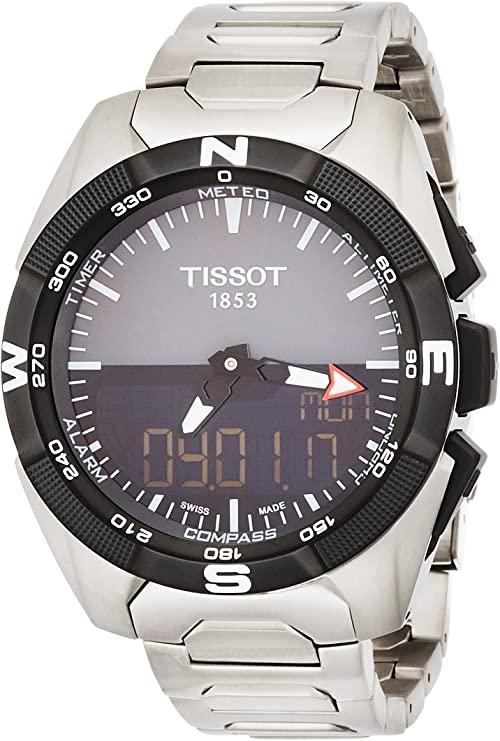 Tissot Pour des hommes Watch T-Touch Expert Solar SWISS Reloj T0914204408100