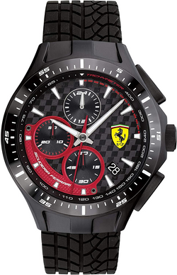 Ferrari Men's Race Day Stainless Steel Q