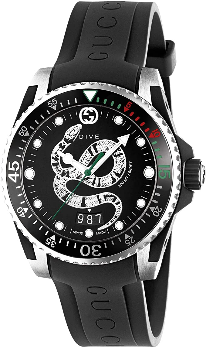 Gucci Dive YA136323_ Amazon_fr_ Montres.