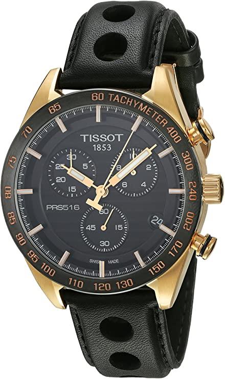 Tissot T1004173605100 PRS516 Montre chronographe pour homme