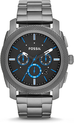 Fossil Men's Machine Stainless Steel Chr
