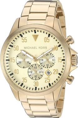 Michael Kors Men' sGage Gold-Tone Watch