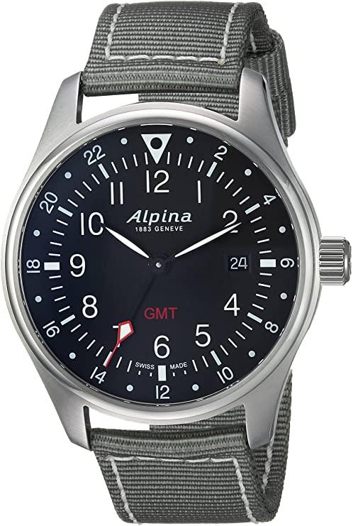 Alpina Men's Startimer Stainless Steel S