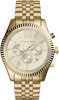 Michael Kors Lexington Chronograph Stain