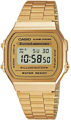 Casio Vintage Retro Gold Digital Dial St