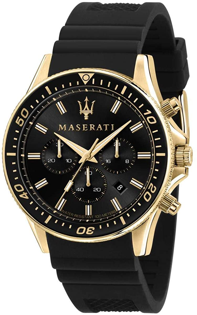 Maserati Men's Sfida R8871640001 Black S