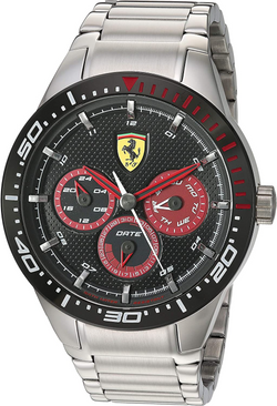 Ferrari Men's Quartz Watch with Stainles
