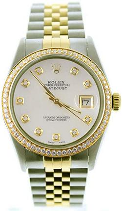 Rolex Mens Datejust 36mm Wat