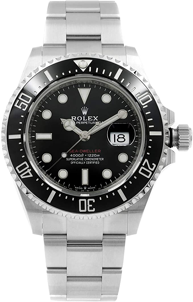 Men's Rolex Sea-Dweller Black Dial Men's