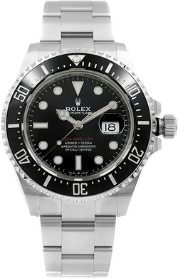 Men's Rolex Sea-Dweller Black Dial Men's