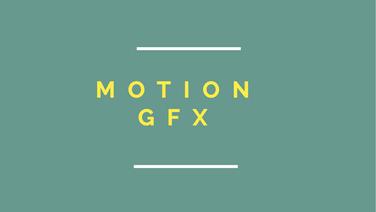 MOTION GFX