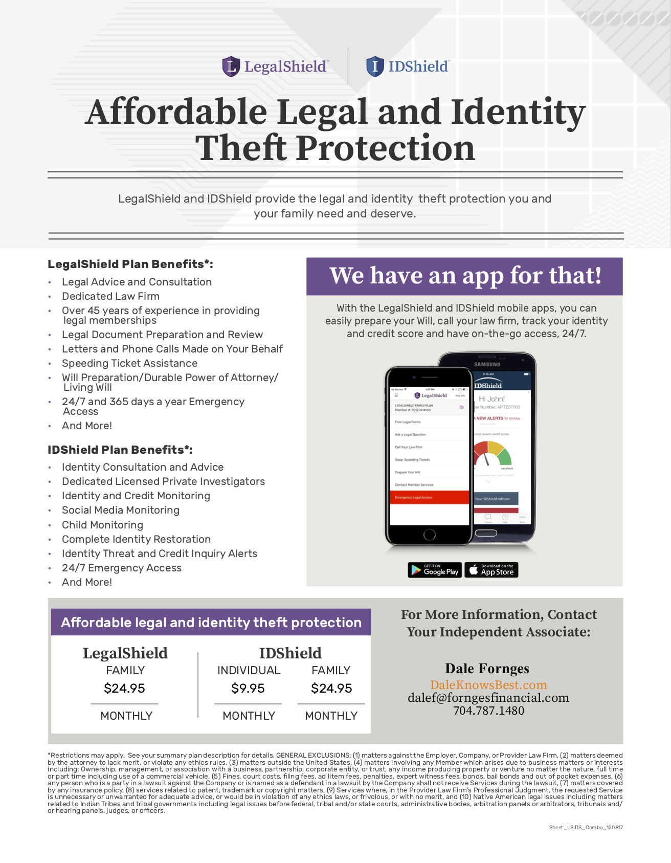 Fornges Financial Now Offers Legal and ID Theft Protection