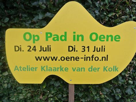 Op pad in Oene, laatste 2 dinsdagen in juli