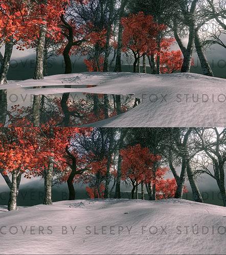 bg - winter forest
