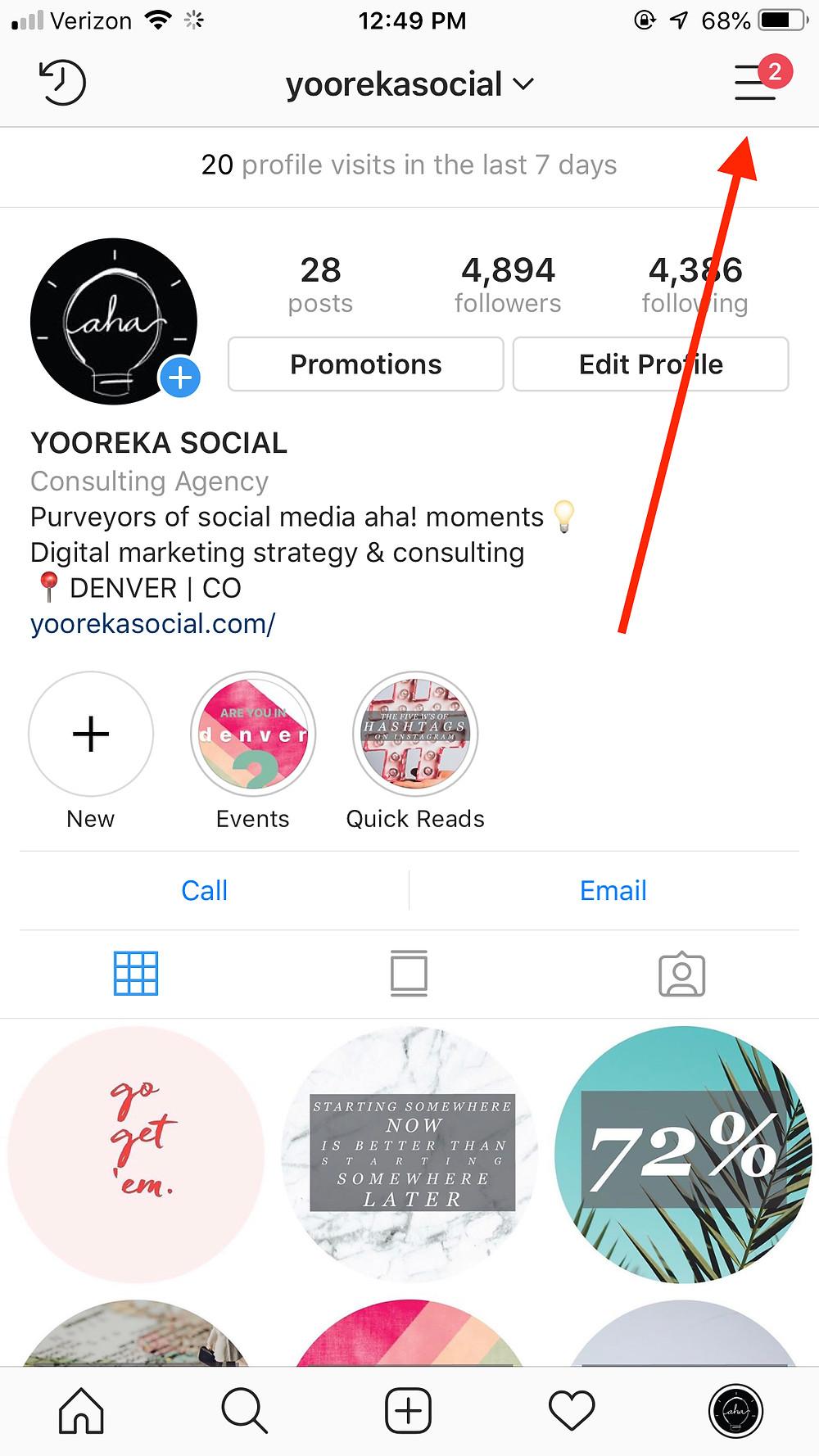 denver marketing, denver social media, denver digital marketing  social media consultant,  digital marketing consultant, yooreka social, instagram quick replies